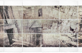 No.1028   The Dormant Yellow series   Analog photography,Image   transferred  on  Paper   Unique Piece   115×284 cm   2013